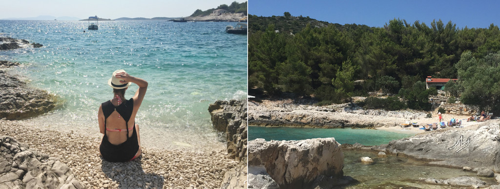 Mekicevica Beach- Hvar Beach Guide- Sally Says So